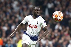 April 30, 2019 - London, England, United Kingdom - Tottenham Hotspur's Davinson Sanchez.during UEFA Championship League Semi- Final 1st Leg between Tottenham Hotspur  and Ajax at Tottenham Hotspur Stadium , London, UK on 30 Apr 2019. (Credit Image: © Action Foto Sport/NurPhoto via ZUMA Press)