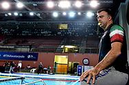 Italian Coach Fabio Conti during the training <br /> Trieste 14/01/2019 Centro Federale B. Bianchi <br /> Women's FINA Europa Cup 2019 water polo<br /> Italy ITA - Nederland NED <br /> Foto Andrea Staccioli/Deepbluemedia/Insidefoto