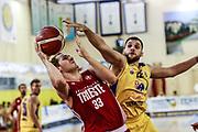 Jon Elmore<br /> Trieste - Sencur<br /> Amichevole precampionato <br /> Legabasket Serie A 2019-20<br /> Parma, 14/09/2019<br /> Foto Ciamillo-Castoria