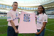 Tuesday 12 June Cecil Afrika - Keep Rugby Clean
