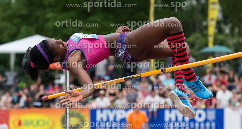 28.05.2016, Moeslestadion, Goetzis, AUT, 42. Hypo Meeting Goetzis 2016, Siebenkampf der Frauen, Hochsprung, im Bild Yorgelis Rodriguez (CUB) // Yorgelis Rodriguez of Cuba in action during the high jump event of the Heptathlon competition at the 42th Hypo Meeting at the Moeslestadion in Goetzis, Austria on 2016/05/28. EXPA Pictures © 2016, PhotoCredit: EXPA/ Peter Rinderer