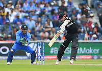 Cricket - 2019 ICC Cricket World Cup - Semi-Final: India vs. New Zealand<br /> <br /> New Zealand's Kane Williamson in action today during the ICC Cricket World Cup match between India and New Zealand, at Old Trafford, Manchester.<br /> <br /> COLORSPORT/ASHLEY WESTERN