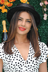 June 3, 2017 - Jersey City, NJ, USA - June 3, 2017 Jersey City, NJ..Priyanka Chopra attending the Veuve Cliquot Polo Classic at Liberty State Park on June 3, 2017 in Jersey City, NJ. (Credit Image: © Kristin Callahan/Ace Pictures via ZUMA Press)