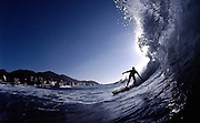 Winter swell in Varazze, known everywhere around Europe for its good quality of waves.    Liguria.