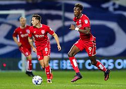 Tammy Abraham of Bristol City in action - Rogan Thomson/JMP - 18/10/2016 - FOOTBALL - Loftus Road Stadium - London, England - Queens Park Rangers v Bristol City - Sky Bet EFL Championship.