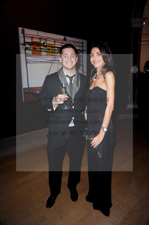 TYRONE WOOD and NINA MOADDEL at the Royal Academy of Arts Summer Party held at Burlington House, Piccadilly, London on 9th June 2010.