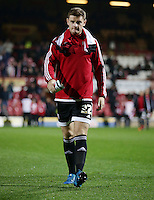 Jack O'Connell of Brentford during the Sky Bet Championship match against Hull City at Griffin Park, Brentford.