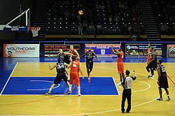 Bristol Flyers' Alif Bland - Photo mandatory by-line: Dougie Allward/JMP - Mobile: 07966 386802 - 31/10/2014 - SPORT - Football - Worcester - Worcester Arena - Worcester Wolves v Bristol Flyers - British Basketball League Cup