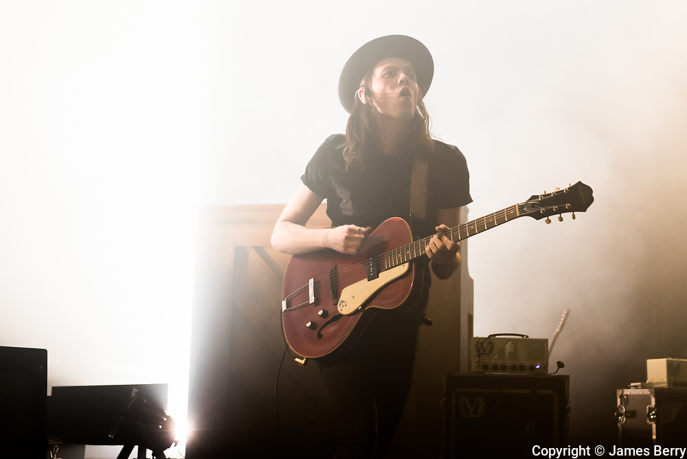 James Bay performs live at Hammersmith Apollo, London on Tuesday 29 March 2016.