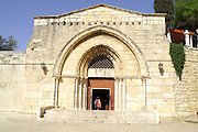 The tomb of the virgin Mary, Jerusalem Israel