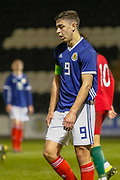 A disconsolate Andrew Winter (Hamilton Academical)   during the U17 European Championships match between Portugal and Scotland at Simple Digital Arena, Paisley, Scotland on 20 March 2019.