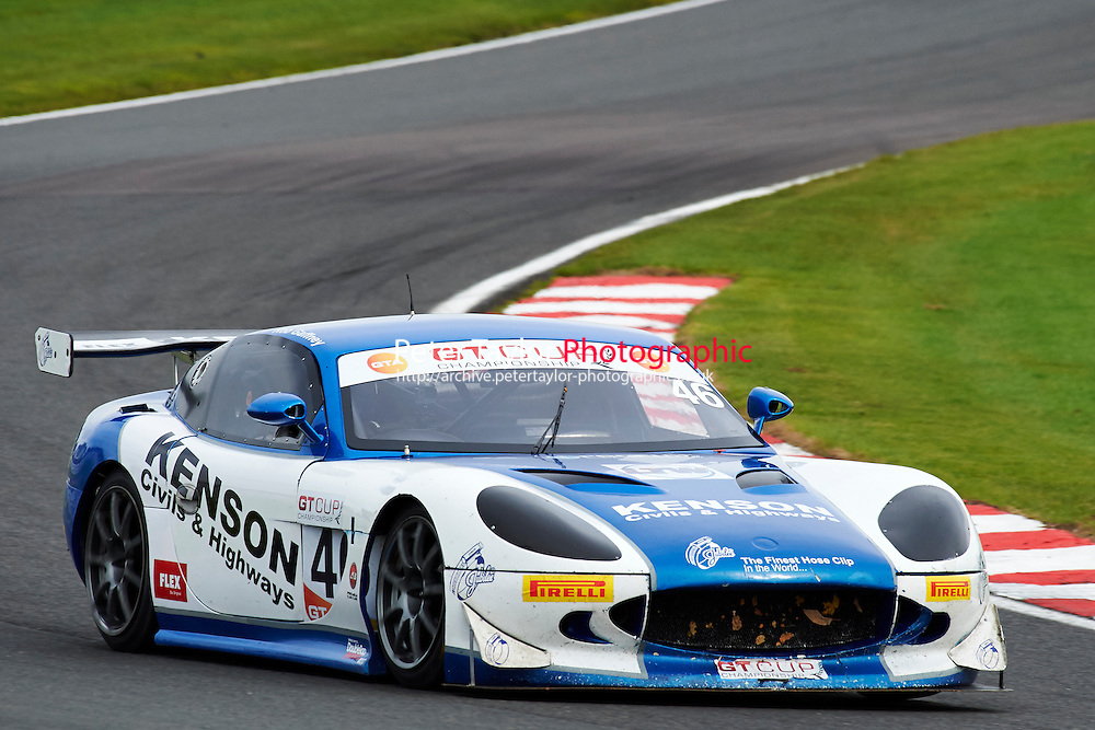 #46 Rob GAFFNEY Ginetta G50 during GT Cup - Race 1 as part of the MSVR Oulton Park 10th October 2015 at Oulton Park, Little Budworth, Cheshire, United Kingdom. October 10 2015. World Copyright Taylor/PSP. Copy of publication required for printed pictures.  Every used picture is fee-liable. http://archive.petertaylor-photographic.co.uk
