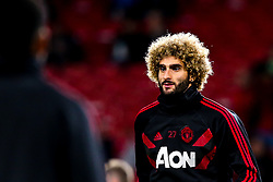 Marouane Fellaini of Manchester United - Mandatory by-line: Robbie Stephenson/JMP - 25/09/2018 - FOOTBALL - Old Trafford - Manchester, England - Manchester United v Derby County - Carabao Cup