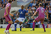 Chesterfield forward Chris O'Grady  during the EFL Sky Bet League 2 match between Chesterfield and Grimsby Town FC at the Proact stadium, Chesterfield, England on 5 August 2017. Photo by Aaron  Lupton.