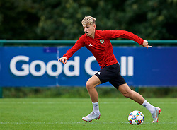 CARDIFF, WALES - Tuesday, September 4, 2018: Wales' David Brooks during a training session at the Vale Resort ahead of the UEFA Nations League Group Stage League B Group 4 match between Wales and Republic of Ireland. (Pic by David Rawcliffe/Propaganda)