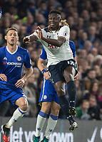 Football - 2016/2017 Premier League - Chelsea V Tottenham Hotspur<br /> <br /> Victor Wanyama of Tottenham at Stamford Bridge.<br /> <br /> COLORSPORT/DANIEL BEARHAM