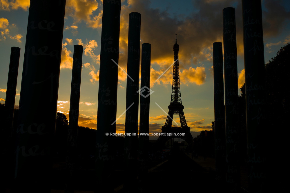 Eiffel Tower in Paris, france<br /> <br /> <br /> (Photo by Robert Caplin)