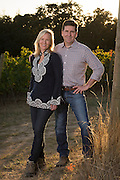 Open Claim Vineyards propriertors Brett & Marne Wall, Eola Hills AVA, Willamette Valley, Oregon