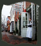 Waitress seafood restaurant in Georgetoen Washington