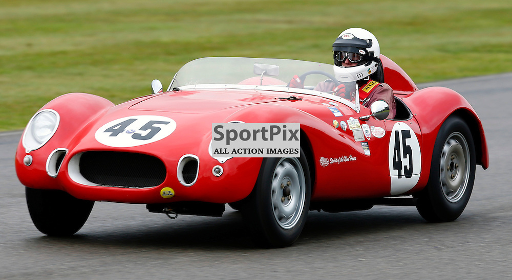 GOODWOOD REVIVAL....Tony Bailey during qualifying for the weekend races...(c) STEPHEN LAWSON | SportPix.org.uk