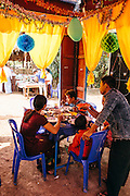 Wedding near Thaton. Mon State, Myanmar