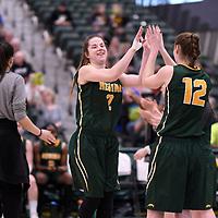 U Sports 2018 Women's National Basketball Championship Bronze Medal game on March  11 at the Centre for Kinesiology, Health and Sport Regina,Saskatchewan. Credit: Arthur Ward/Arthur Images