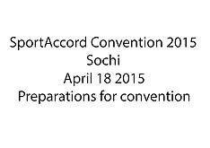 20150418 SAC 2015 - Preparations