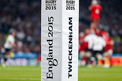 England 2015 Flag Pad - Mandatory byline: Rogan Thomson/JMP - 07966 386802 - 18/09/2015 - RUGBY UNION - Twickenham Stadium - London, England - England v Fiji - Rugby World Cup 2015 Pool A.