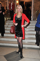 ANNEKE RICE arrives at the press night of the new Andrew Lloyd Webber  musical 'The Wizard of Oz' at The London Palladium, Argylle Street, London on 1st March 2011 followed by an aftershow party at One Marylebone, London NW1
