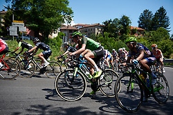 Riejanne Markus (NED) on the climb to Pasturana at Giro Rosa 2018 - Stage 2, a 120.4 km road race starting and finishing in Ovada, Italy on July 7, 2018. Photo by Sean Robinson/velofocus.com