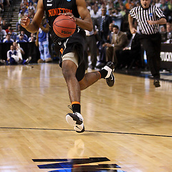 Mar 17, 2011; Tampa, FL, USA; Princeton Tigers forward Kareem Maddox (2) during second half of the second round of the 2011 NCAA men's basketball tournament against the Kentucky Wildcats at the St. Pete Times Forum. Kentucky defeated Princeton 59-57.  Mandatory Credit: Derick E. Hingle