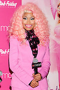 20.NOVEMBER.2012. NEW YORK<br /> <br /> NICKI MINAJ COMES HOME TO HER FANS IN QUEENS, TO CELEBRATE THE HOLIDAY SEASON AND THE SUCCESS OF PINK FRIDAY, AT MACY'S QUEENS CENTER IN NEW YORK.<br /> <br /> BYLINE: EDBIMAGEARCHIVE.CO.UK<br /> <br /> *THIS IMAGE IS STRICTLY FOR UK NEWSPAPERS AND MAGAZINES ONLY*<br /> *FOR WORLD WIDE SALES AND WEB USE PLEASE CONTACT EDBIMAGEARCHIVE - 0208 954 5968*