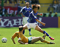 v.l. Shunsuke Nakamura, Scott Chipperfield<br />