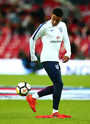 Jesse Lingard of England - Mandatory by-line: Robbie Stephenson/JMP - 05/10/2017 - FOOTBALL - Wembley Stadium - London, United Kingdom - England v Slovenia - World Cup qualifier