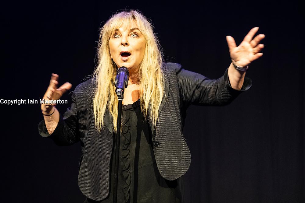 Edinburgh, Scotland, UK; 1 August, 2018. Helen Lederer appearing at press launch of Underbelly at the Edinburgh Fringe Festival