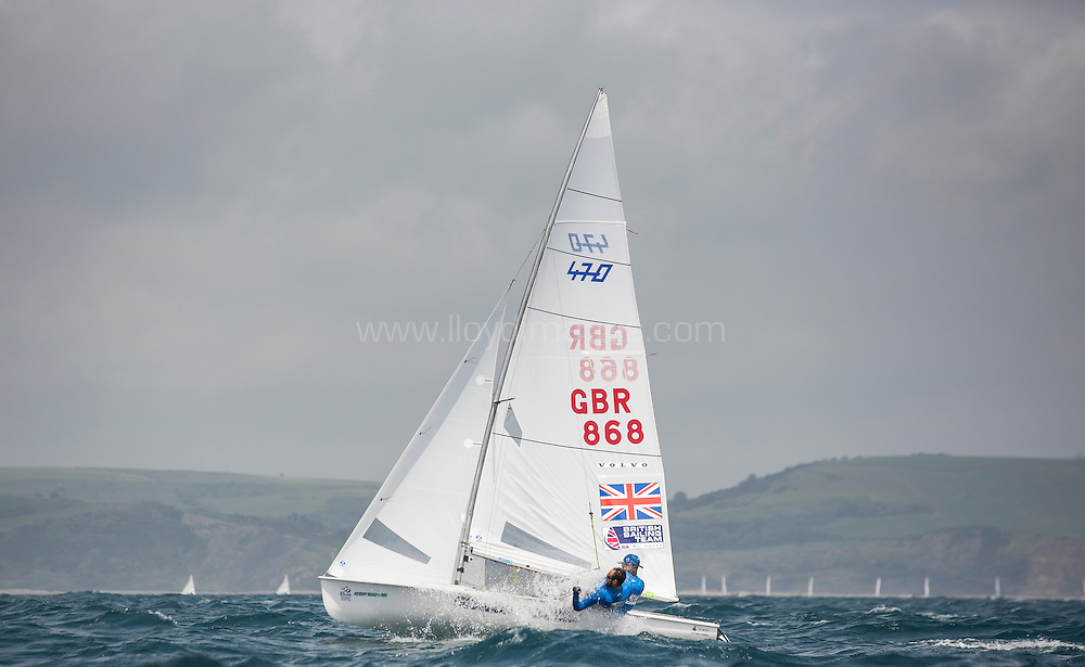 Image licensed to Lloyd Images<br /> The ISAF Sailing World Cup Weymouth and Portland. UK. <br /> Credit - Lloyd Images