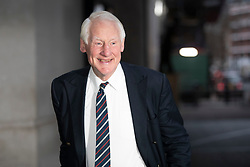 © Licensed to London News Pictures. 26<br /> /01/2020. London, UK. Former Cabinet Secretary Lord Robin Butler arrives at the BBC. Later he will appear on the Andrew Marr Show. Photo credit: George Cracknell Wright/LNP