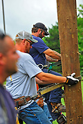 American Childhood Cancer Organization along with Cleveland, OH Linemen of Locl 270 are strapping in and climbing for Childhood Cancer Cure. Climb for a Cure brings 25+ UWUA Local 270 Linemen to help support Go Gold for Kids with Cancer on July 22, 2017.  Cleveland based photographer, John Bashian, a location specialist traveling throughout the country providing local, national and multi-national clients with images that are colorful, creative, dynamic, exciting and fun.