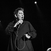 Case/Lang/Veirs perform at 930 Club in Washington, DC on July 27, 2016 (Photo by Richie Downs).