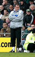 Photo: Dave Linney.<br />Derby County v Burnley. Coca Cola Championship. 11/03/2006.Derby's MgrTerry Westley