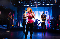 © Licensed to London News Pictures. 26/03/2014. London, UK.   Katy B performing live at KOKO. Katy B (real name Kathleen Anne Brien) is an English dubstep, R&B, funky, house and UK garage singer and songwriter, and a graduate of the BRIT School.   Photo credit : Richard Isaac/LNP