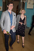 James Norton: Imogen Poots , Royal Academy Summer Exhibition party. Burlington House. Piccadilly. London. 6 June 2018