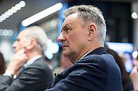 29 MAR 2017, BERLIN/GERMANY:<br /> Michael Frenzel, Praesident des Wirtschaftsforums der SPD und ehem. Vorstandsvorsitzender der Preussag AG bzw. TUI AG, Veranstaltung des Wirtschaftsforums der SPD und der Business 20, B20: &quot;Global Governance in Zeiten der Globalisierungsskepsis - Impulse aus der G20-Wirtschaft&quot;, Quartier Zukunft der Deutschen Bank<br /> IMAGE: 20170329-02-148