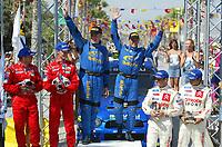 AUTO - WRC 2003 - CYPRUS RALLY -  20030622 - PETTER SOLBERG OG PHILL MILLS<br />PHOTO : FRANCOIS BAUDIN / DIGITALSPORT