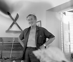 Writer IAN FLEMING, creator of James Bond, at his home Golden Eye in Jamaica photographed in February 1962.