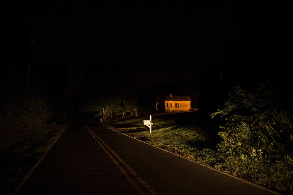 Jones Ferry Road, Chatham County, North Carolina.