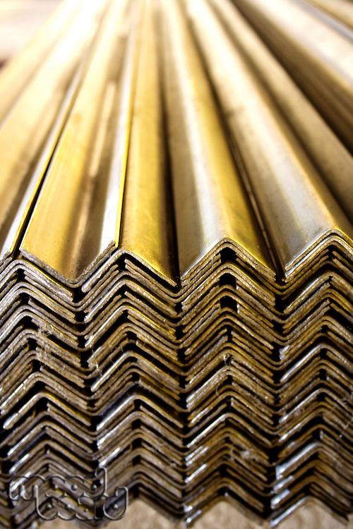 Metal sheet - angle shape