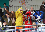 Dundee fans in fancy dress - Kilmarnock v Dundee - Clydesdale Bank Scottish Premier League at Rugby Park. - © David Young - www.davidyoungphoto.co.uk - email: davidyoungphoto@gmail.com