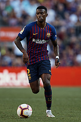September 29, 2018 - Barcelona, Barcelona, Spain - Nelson Semedo of FC Barcelona during the La Liga match between FC Barcelona and Athletic Club de Bilbao at Camp Nou on September 29, 2018 in Barcelona, Spain  (Credit Image: © David Aliaga/NurPhoto/ZUMA Press)