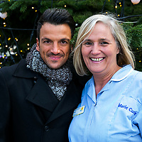 Marie Curie Peter Andre Xmas Lights